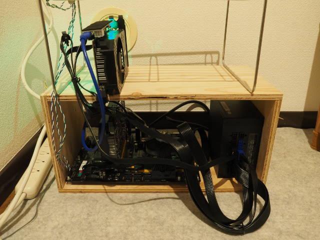 マイニング用のマシンを組立てる!(GPUマイニング)