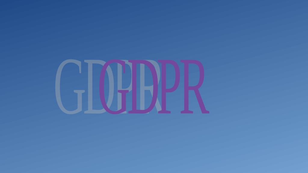 GDPRとプライバシー保護について