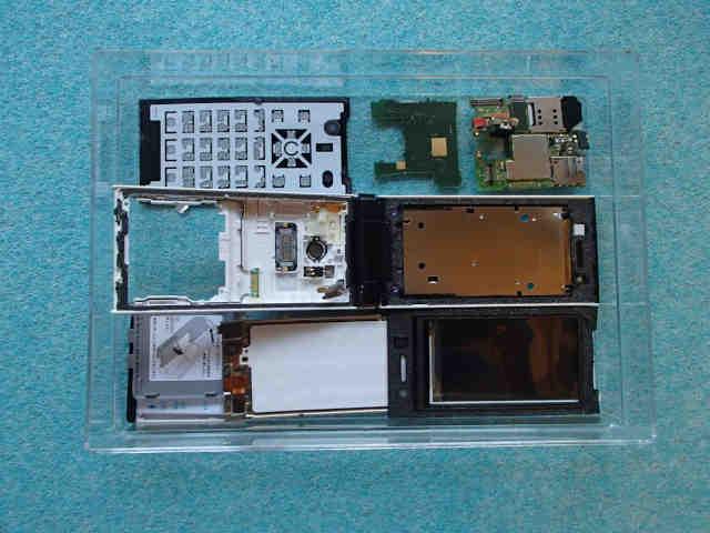 携帯端末の構造を確かめる!(フィーチャーフォン)