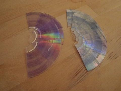 データを読めなくしてDVD(DVD-R)を廃棄する!