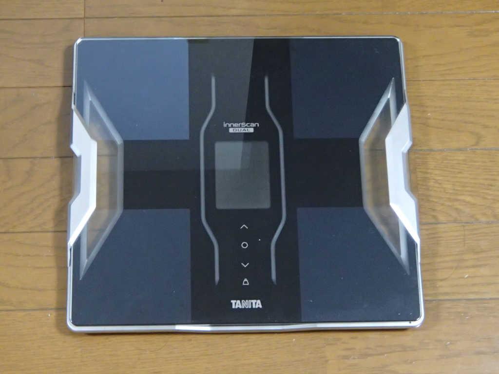 体重計とスマホを連携して体重管理する!(タニタ体重計)