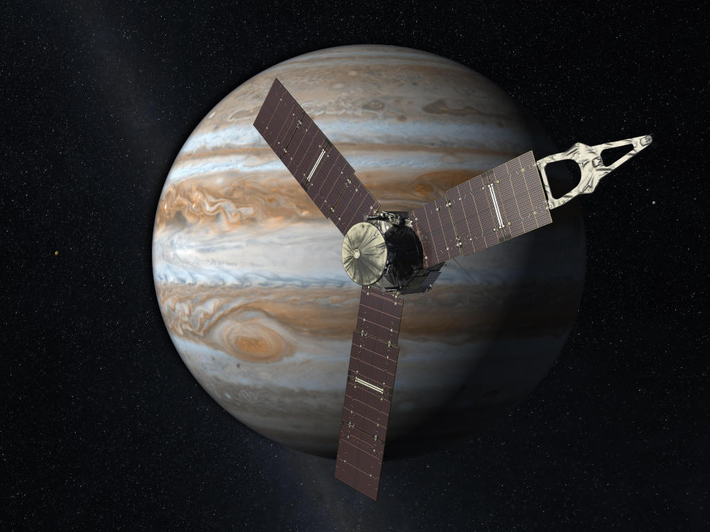 木星探査機「ジュノー」から木星を間近に見る!
