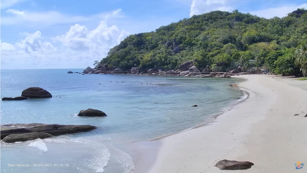 タイのサムイ島のビーチをライブカメラで訪れる!