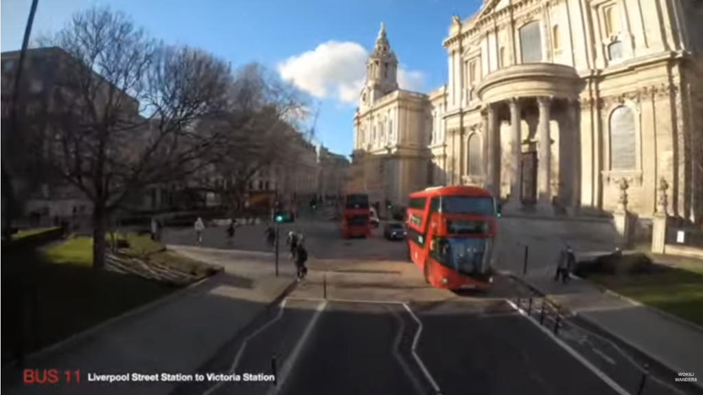 ロンドンの街の様子を二階建てバスのライブカメラで楽しむ!