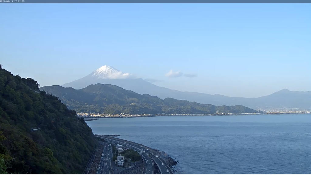 富士山の眺めをライブカメラで楽しむ!