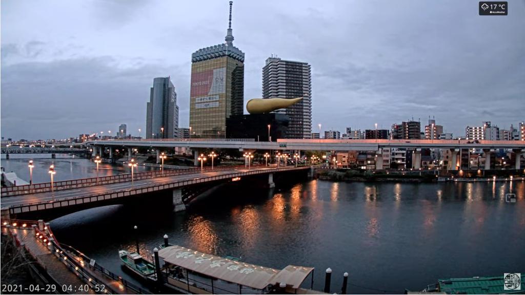 東京の河川の状況をライブカメラで確認する!