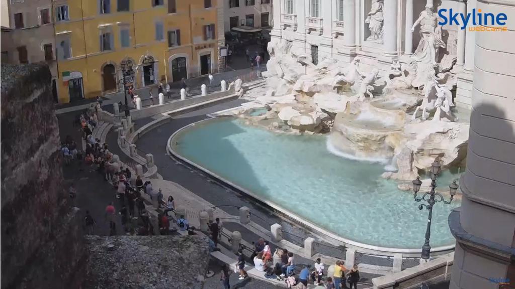ローマの街をライブカメラで楽しむ!