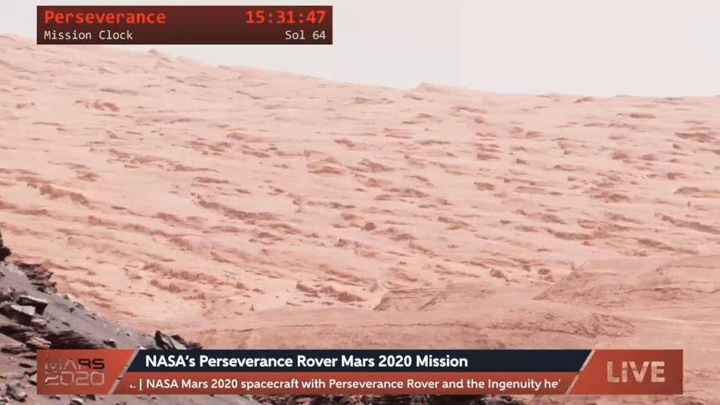 Perseveranceによる火星の探査の様子を見る!