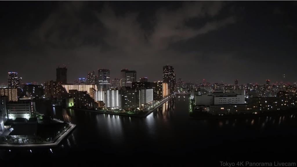東京の運河の様子をライブカメラで楽しむ!